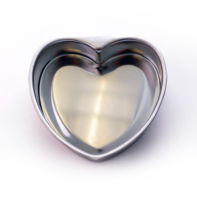 Molde en forma de corazon