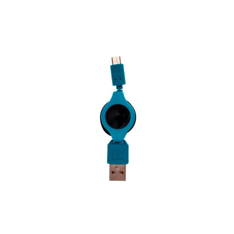 cable cargador retractil