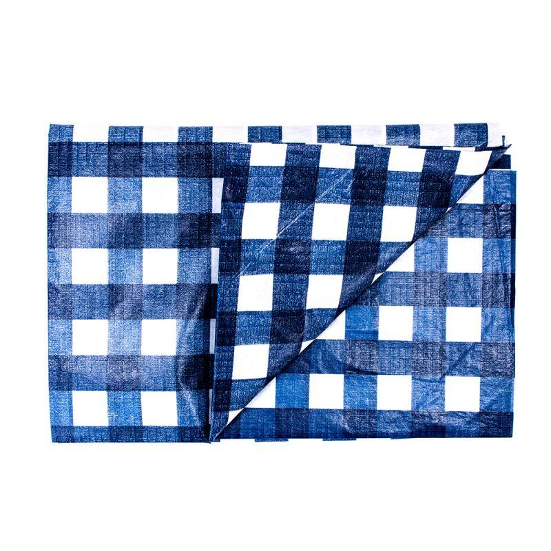 Mantel pl stico para mesa dise o a cuadros 130x175cm - Mantel plastico ...