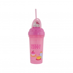 Vaso Loopity Loop 300 mL Hello Kitty