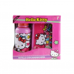 Juego de Botella 450mL con sandwichera Hello Kitty