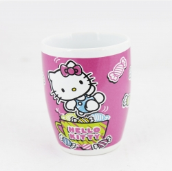 Taza de porcelana Hello Kitty Dulces Rosa 380ml